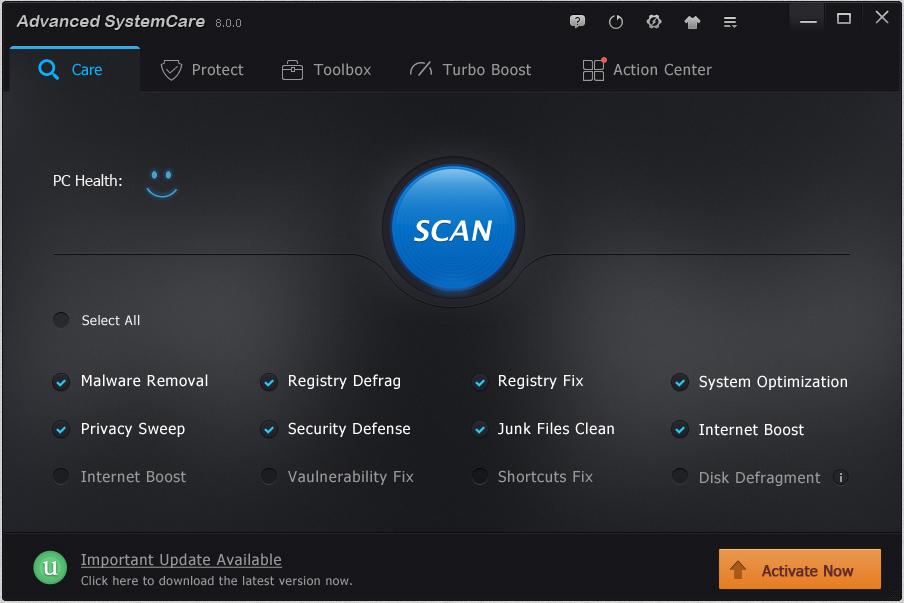 Advanced systemcare 8 pro ключ скачать торрент