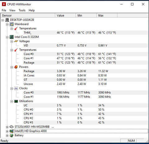 CPUID HWMonitor download