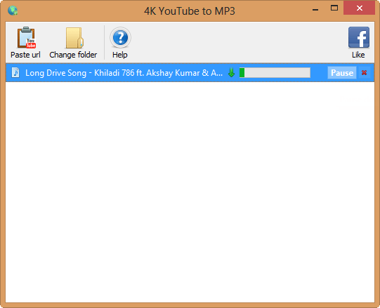 4k youtube to mp3 converter free download
