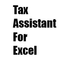 Tax Assitant For Excel