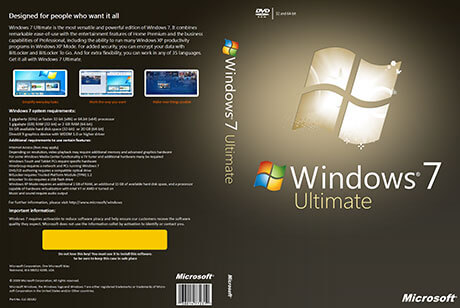 Windows 7 ultimate 32 bit x86