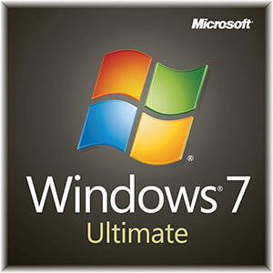 Windows 7 Ultimate ISO DVD Box