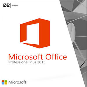 MS Office 2013 Pro Plus Front Cover
