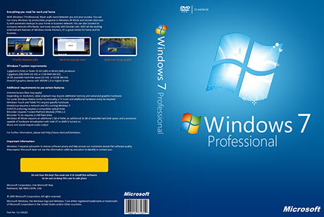 Windows 7 Professional Full Version Free Download ISO 32 / 64 Bit