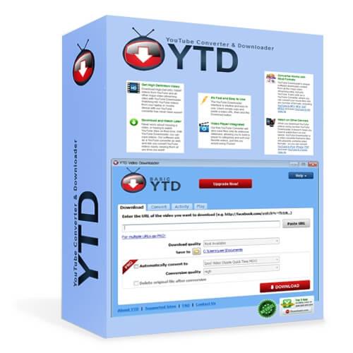 YTD Video Downloader free