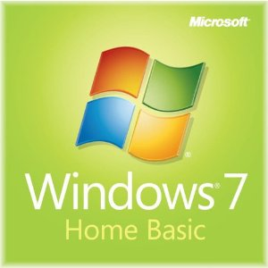 windows 7 Home Basic ISO DVD Box