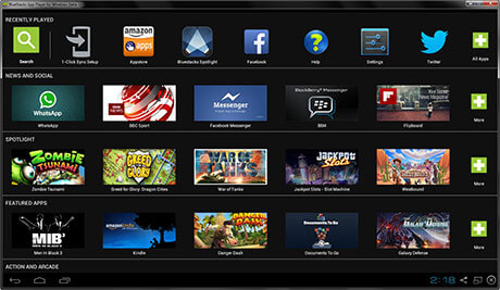 BlueStacks App Player Free Download v2.0 For Windows PC