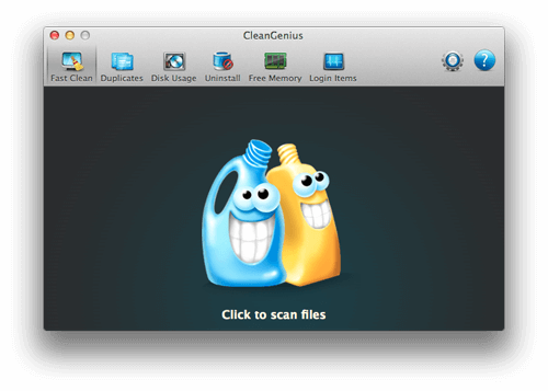 How to clean up mac-