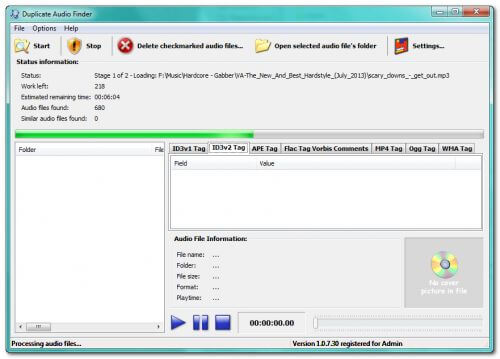 3delite Duplicate Mp3 Finder