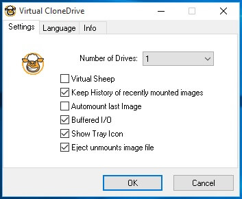 Alternative Virtual drive program Virtual CloneDrive