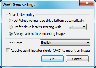 Image Mounting Software WinCDEmu