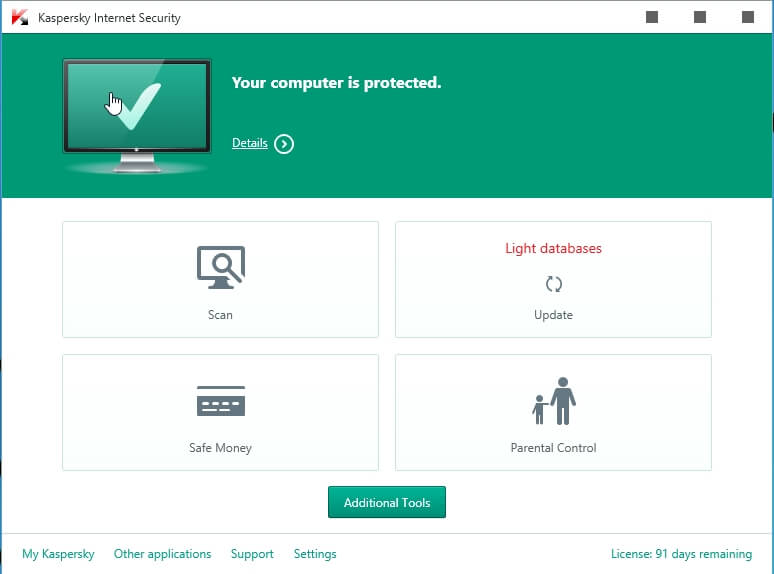Kaspersky internet security 7.0.1.227 by boricuamafia