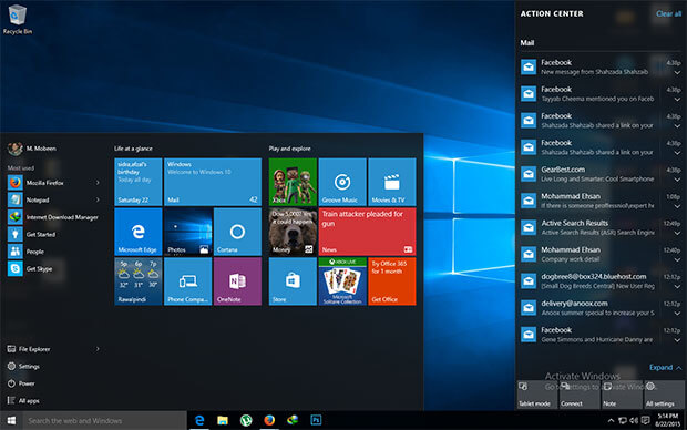 Windows 10 Pro Build 10240