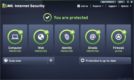 Download AVG Internet Security 2016