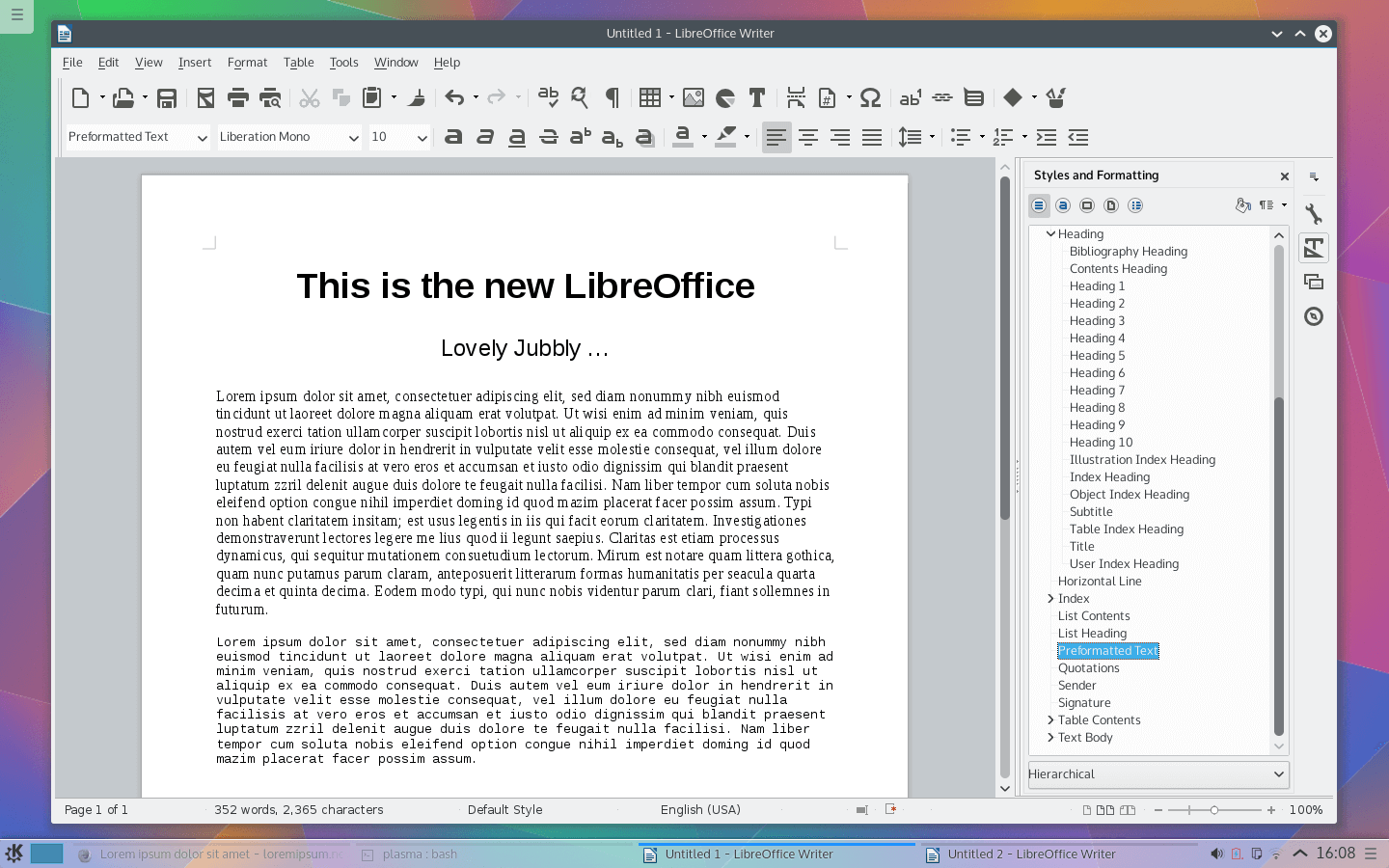 Libreoffice free download v5 0 1 open source office softlay - Openoffice or libre office ...