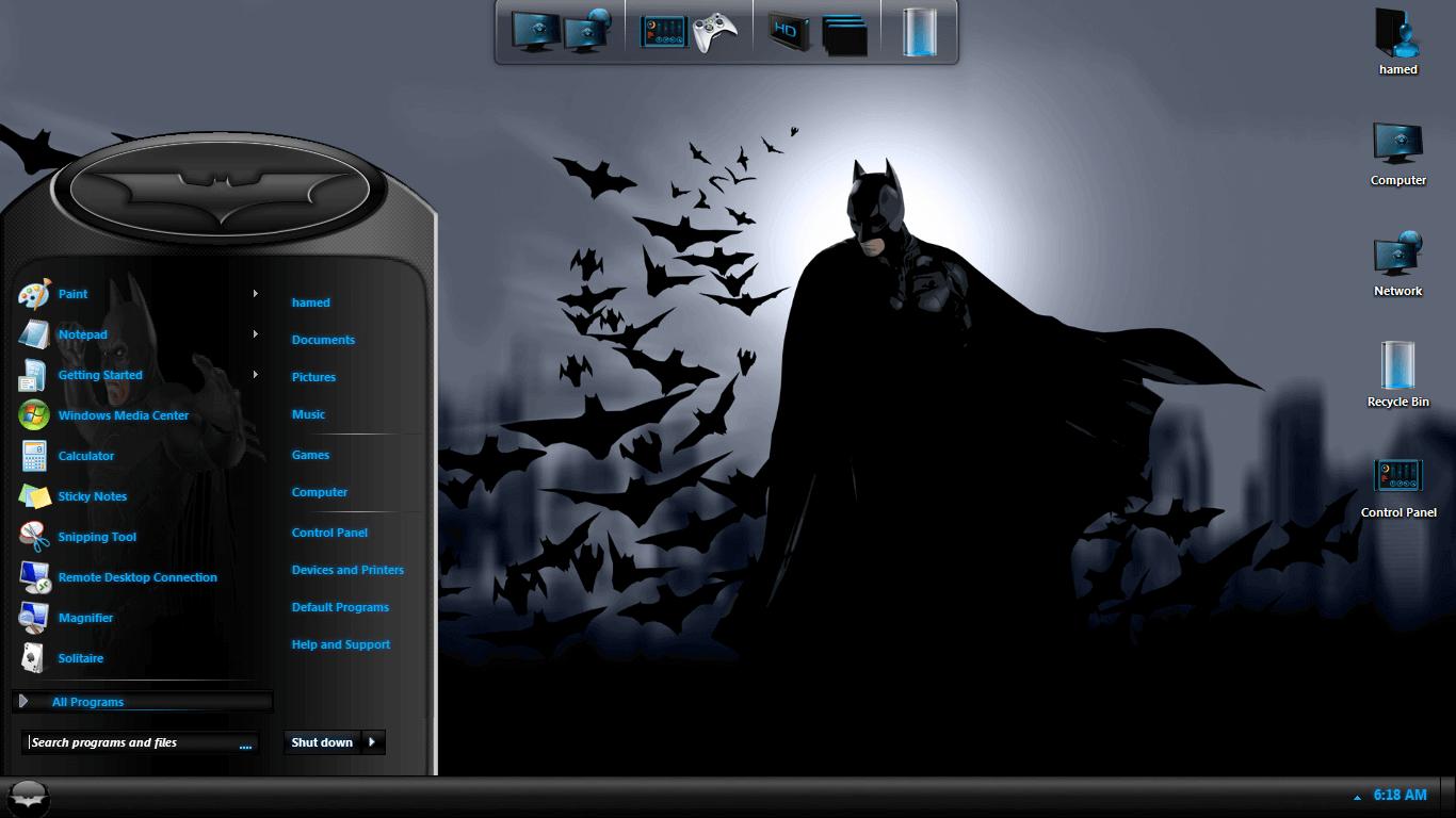 Download ferrari windows 7 desktop theme.
