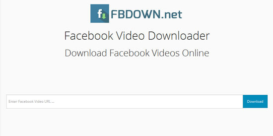 FBDown- Facebook video downloader