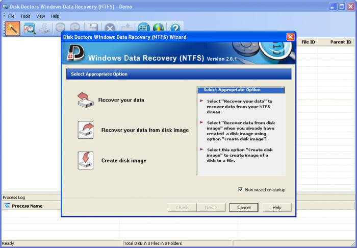 Disk Doctor Windows data recovery