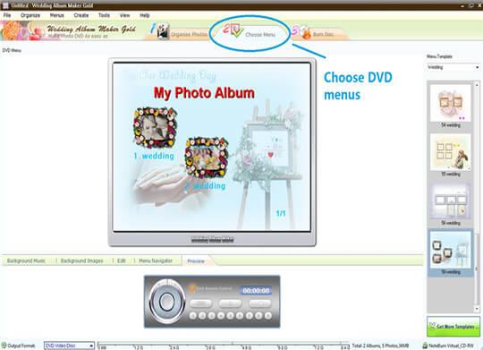 Wedding Album maker gold free download