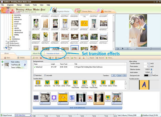 Wedding Album maker software online