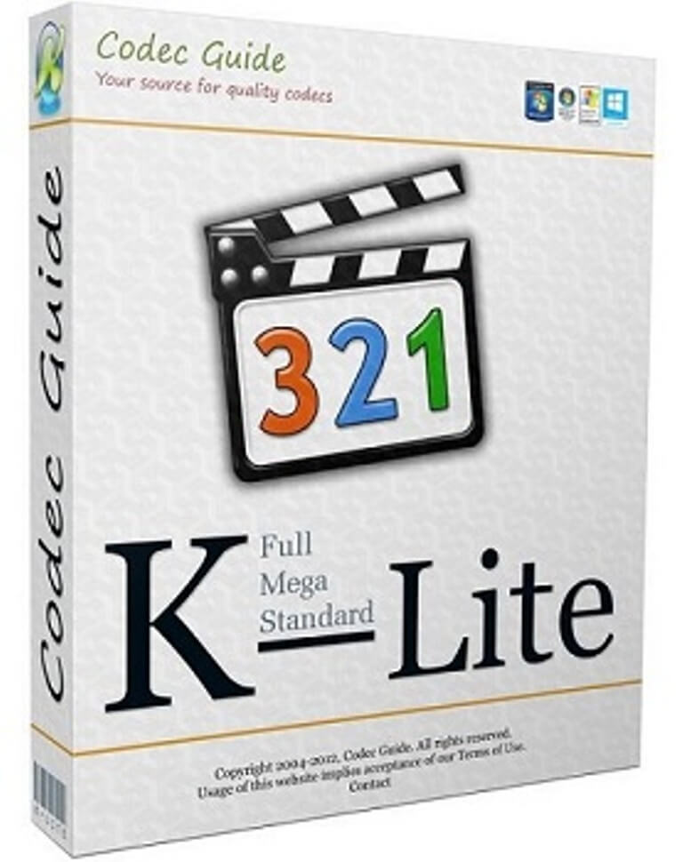 k lite mega codec pack 2019