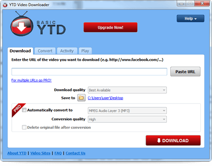 Download YTD downloader for windows 7