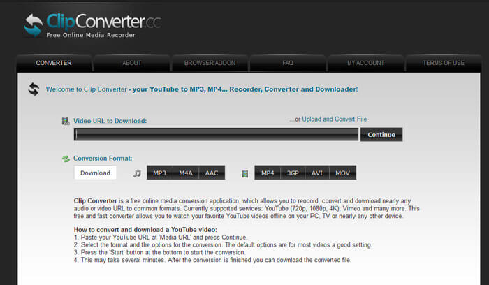 clipconverter youtube to mp4 amp mp3 converter softlay