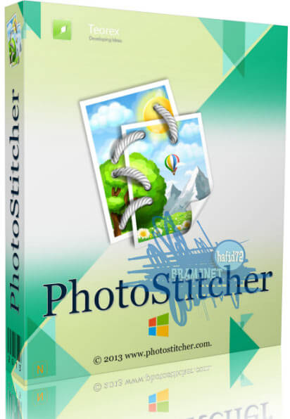 Teorex Photo Stitcher Free Download Cover Box