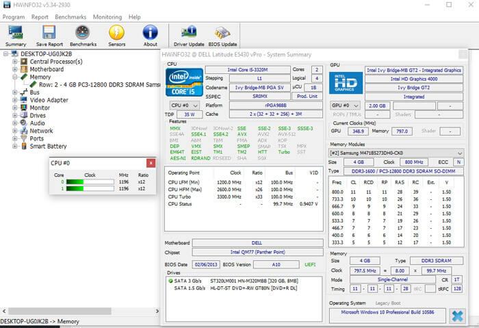Hwinfo Free Download 32 64bit Hardware Analysis