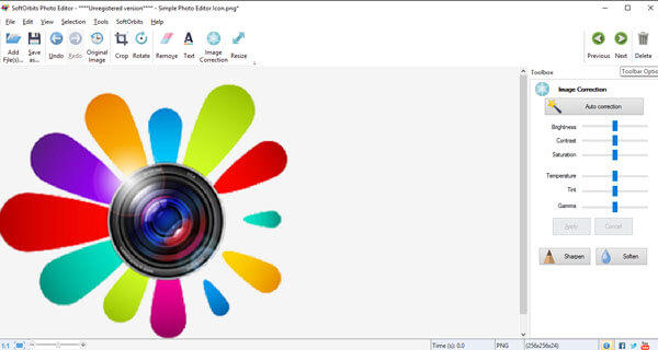 Photo Editor Interface