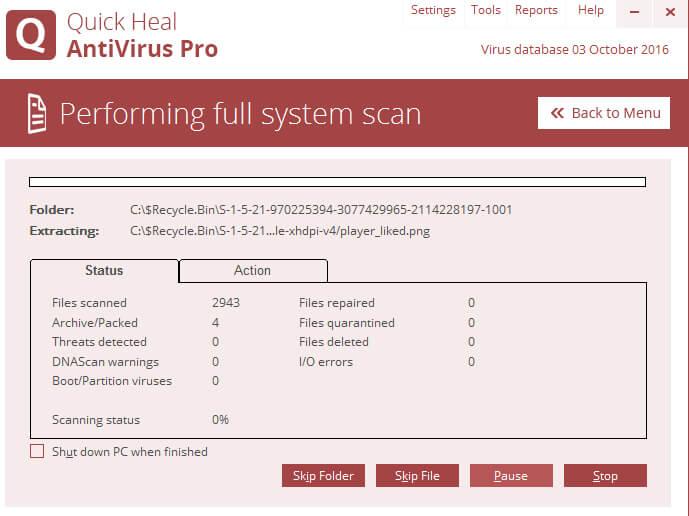Quick Heal Antivirus 2016 Download Price