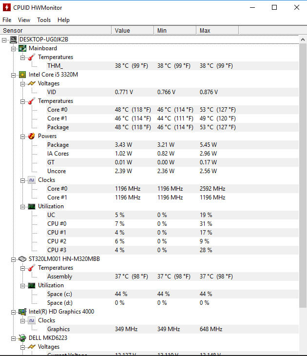 2017 Best Reliable Cpu Temp Monitoring Apps For Windows