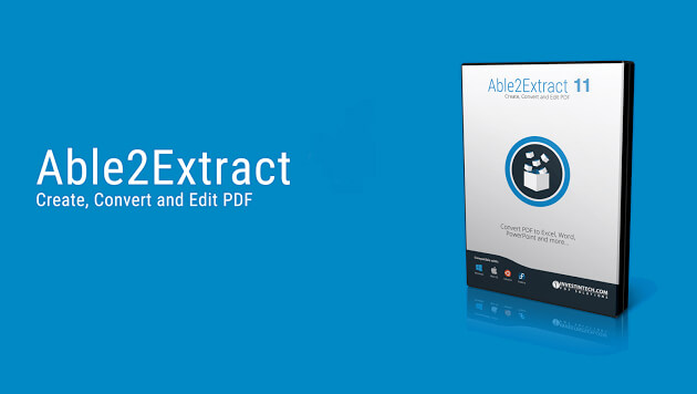 Able2Extract PDF To Office converter