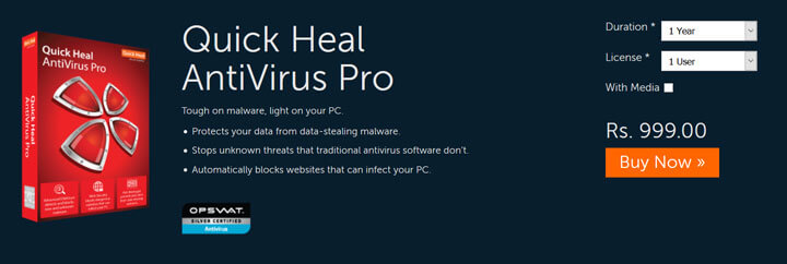 QuickHeal Antivirus Pro 2017 Download