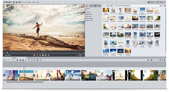 Photostory 2017 User Interface