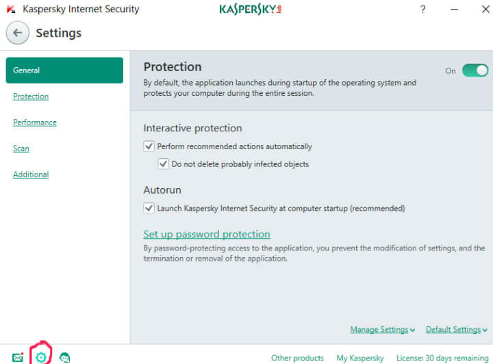 Best Settings for Kaspersky