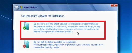 pgrade Windows Vista to Windows 7 process 2018