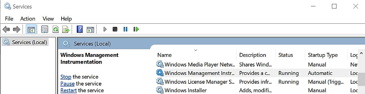 wmi provider host?