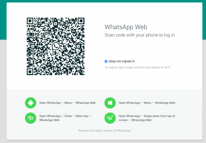 download whats app web
