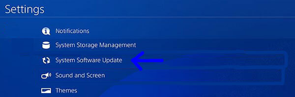Update PS4 software if games constantly crashes and encountered  error