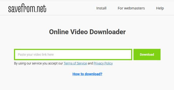 savefromnet youtube downloader